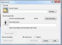 Embedded Sound